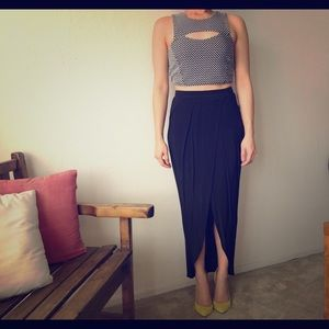 NWT. Stretch high waist skirt